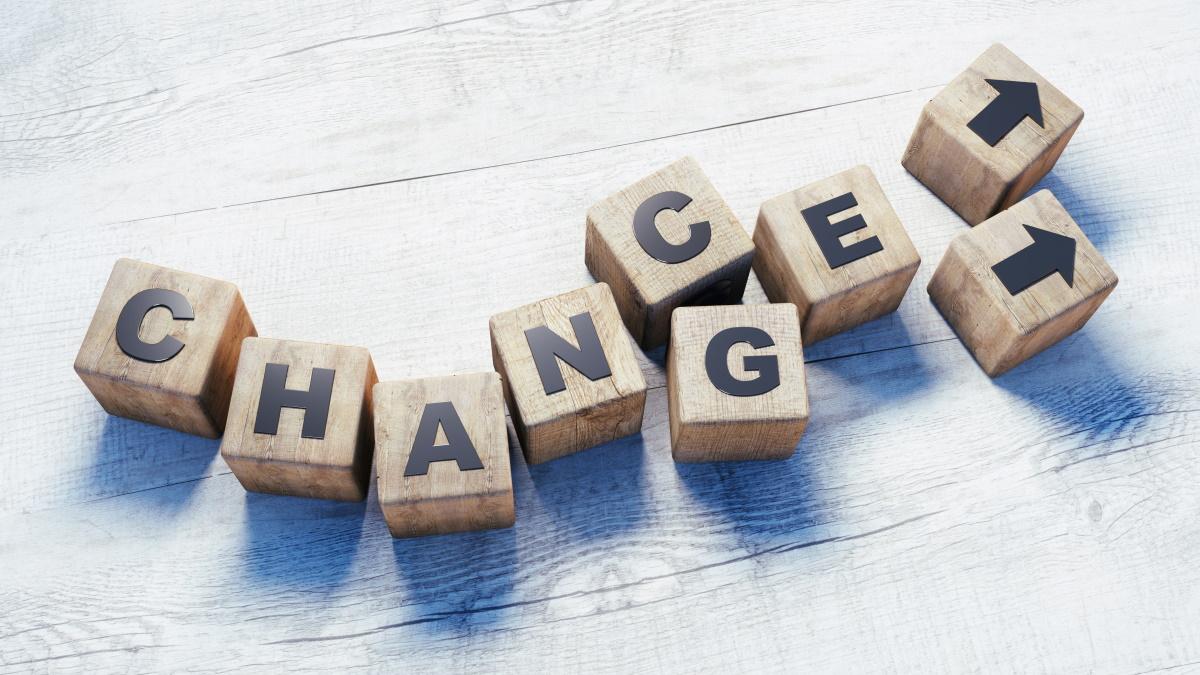 Forandring er ikke bare forandring