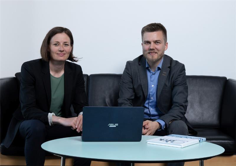 Konsulenterne Maren Granlien og Kristian Aagaard fra ilik konsulentfirma